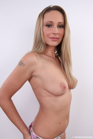 Cute sexy long legged blonde with hot ti - XXX Dessert - Picture 21