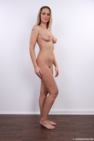 Cute sexy long legged blonde with hot ti - XXX Dessert - Picture 24