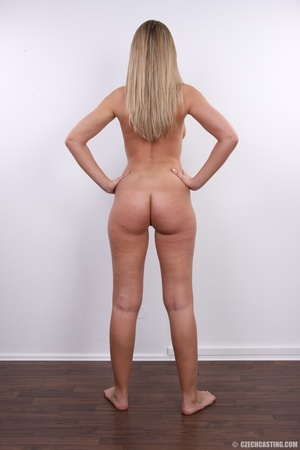 Cute sexy long legged blonde with hot ti - XXX Dessert - Picture 25