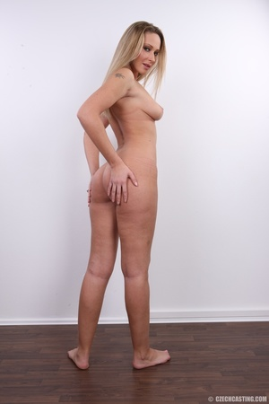Cute sexy long legged blonde with hot ti - XXX Dessert - Picture 26