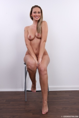 Cute sexy long legged blonde with hot ti - XXX Dessert - Picture 29