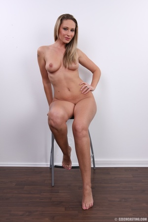 Cute sexy long legged blonde with hot ti - XXX Dessert - Picture 30