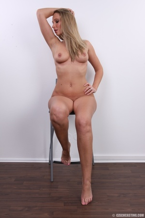 Cute sexy long legged blonde with hot ti - XXX Dessert - Picture 31