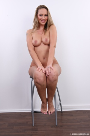 Cute sexy long legged blonde with hot ti - XXX Dessert - Picture 33