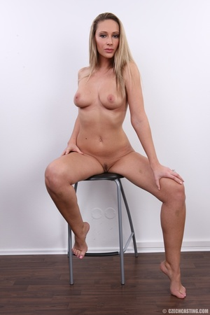 Cute sexy long legged blonde with hot ti - XXX Dessert - Picture 34