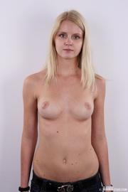 sweet looking blonde beauty