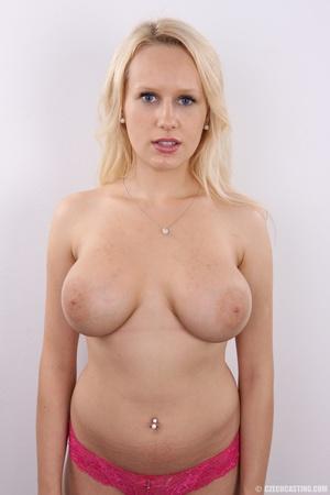 Erotic smiling blonde with super excitin - XXX Dessert - Picture 13