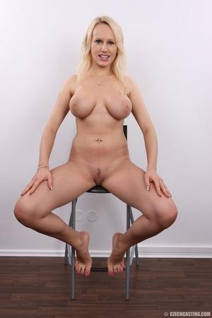Erotic smiling blonde with super excitin - XXX Dessert - Picture 23