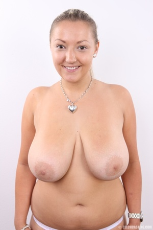 Hot chubby blonde with super big tits, h - XXX Dessert - Picture 10