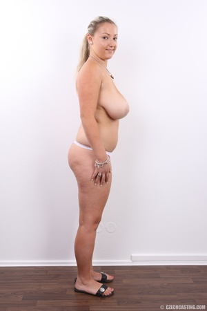 Hot chubby blonde with super big tits, h - XXX Dessert - Picture 13