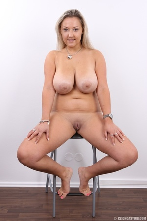 Hot chubby blonde with super big tits, h - XXX Dessert - Picture 19
