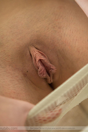 Lusty brunette with juicy tits blowing a - XXX Dessert - Picture 6