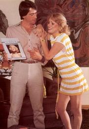 retro blonde loves cock