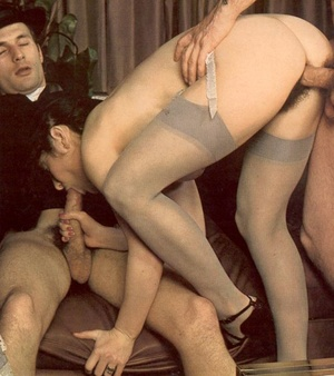 Horny seventies priest boning two wet an - Picture 10