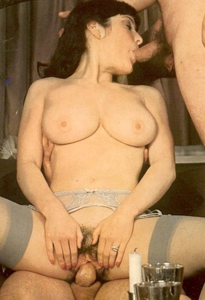 Horny seventies priest boning two wet an - Picture 15