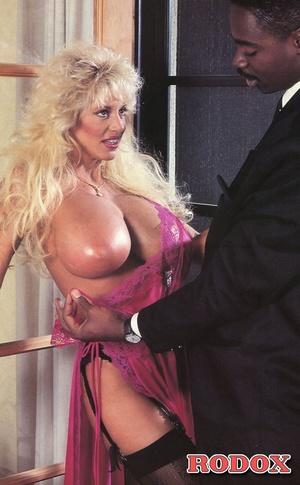 Naked pornstar with massive boobs fucks  - XXX Dessert - Picture 4