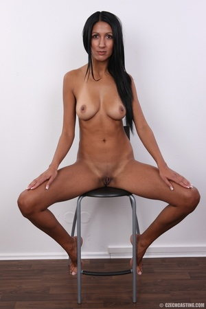 Chocolate flavored beauty with slim sexy - XXX Dessert - Picture 19