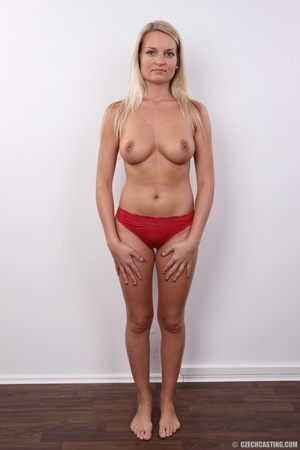 Hot blonde not shy to model her hot sexy - XXX Dessert - Picture 4