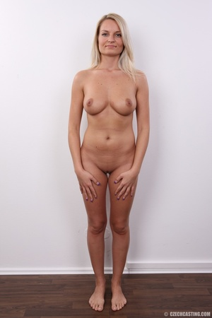 Hot blonde not shy to model her hot sexy - XXX Dessert - Picture 9
