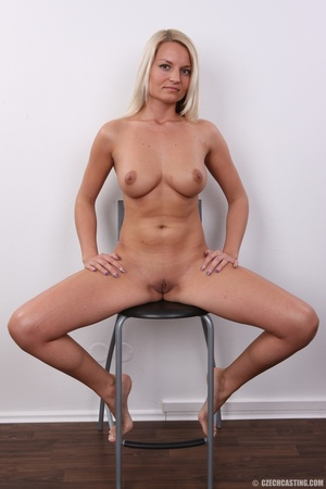 Hot blonde not shy to model her hot sexy - XXX Dessert - Picture 14