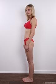 slender and seductive blonde
