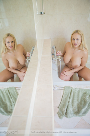Curvy blonde with huge tasty tits and go - XXX Dessert - Picture 5
