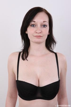 Hot slim chick models big round boobs, h - XXX Dessert - Picture 5