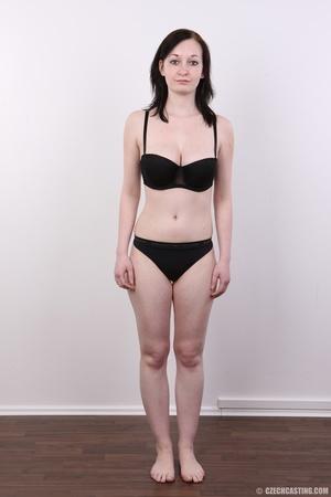 Hot slim chick models big round boobs, h - XXX Dessert - Picture 6