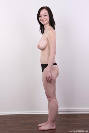 Hot slim chick models big round boobs, h - XXX Dessert - Picture 8