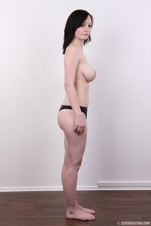 Hot slim chick models big round boobs, h - XXX Dessert - Picture 9