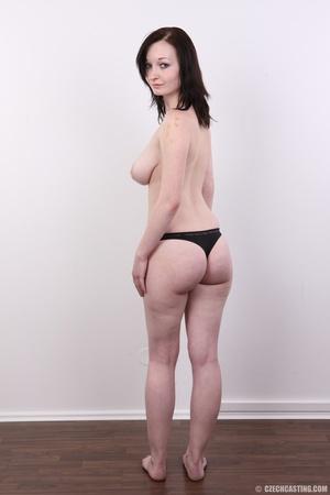 Hot slim chick models big round boobs, h - XXX Dessert - Picture 14