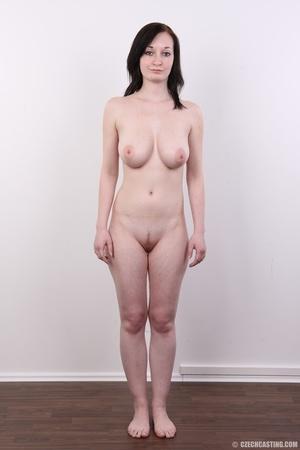 Hot slim chick models big round boobs, h - XXX Dessert - Picture 15