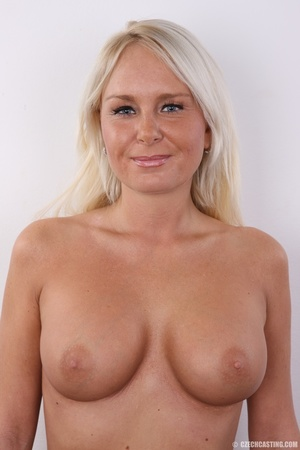 Matured blonde with sweet round boobs mo - XXX Dessert - Picture 16