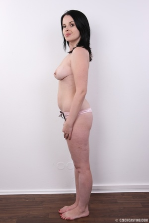 Lusty brunette ready for action shows sw - XXX Dessert - Picture 8