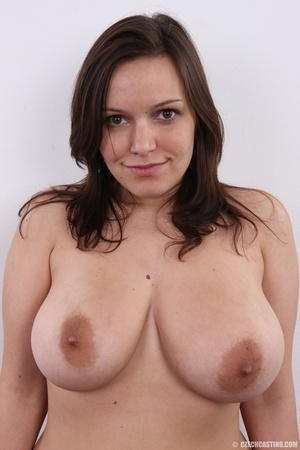 Chick with big overflowing boobs models  - XXX Dessert - Picture 10