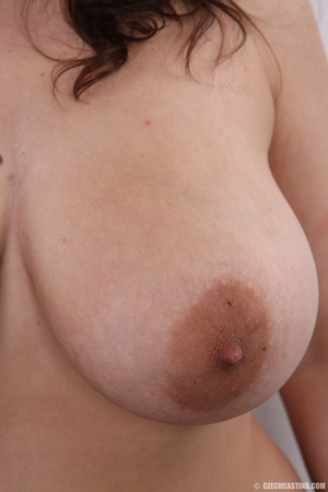 Chick with big overflowing boobs models  - XXX Dessert - Picture 13