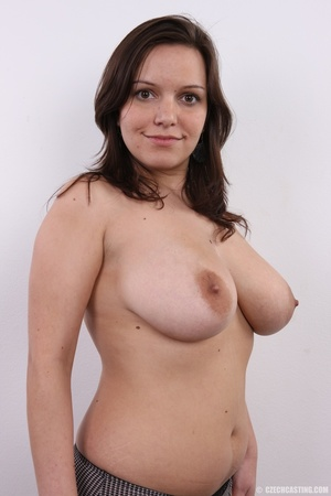 Chick with big overflowing boobs models  - XXX Dessert - Picture 14