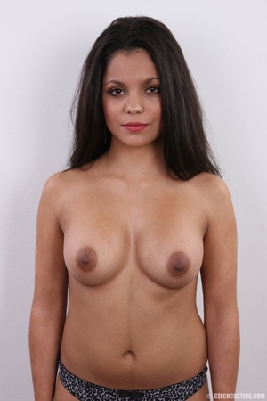 Exotic chocolate colored beauty with swe - XXX Dessert - Picture 15