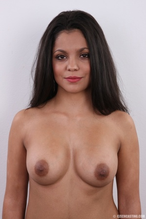 Exotic chocolate colored beauty with swe - XXX Dessert - Picture 16