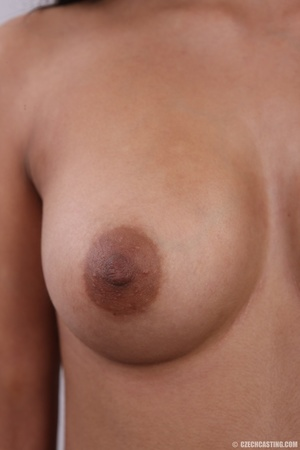 Exotic chocolate colored beauty with swe - XXX Dessert - Picture 17