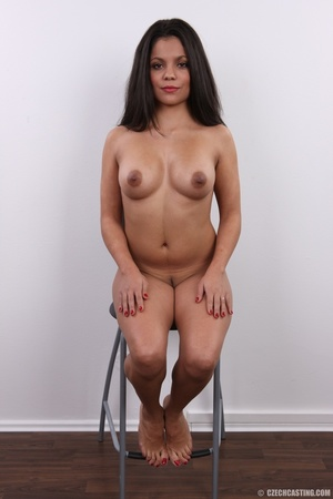 Exotic chocolate colored beauty with swe - XXX Dessert - Picture 23