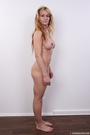 slim sexy blonde with