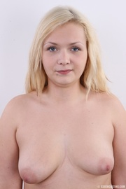 chubby cute faced blonde
