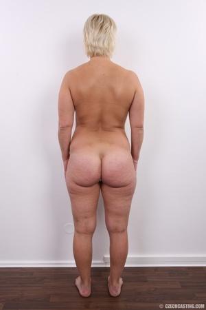 Short hair chubby matured blonde with bi - XXX Dessert - Picture 16