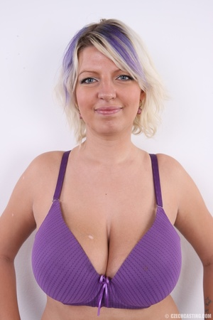 Dyed hair blonde with super huge and swe - XXX Dessert - Picture 4