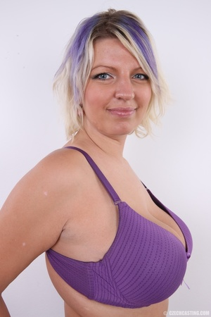 Dyed hair blonde with super huge and swe - XXX Dessert - Picture 7
