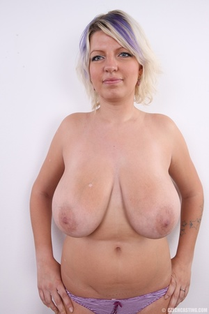 Dyed hair blonde with super huge and swe - XXX Dessert - Picture 13