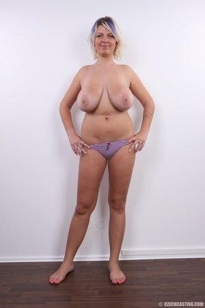 Dyed hair blonde with super huge and swe - XXX Dessert - Picture 16