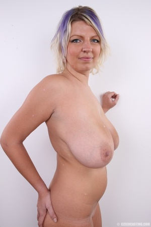 Dyed hair blonde with super huge and swe - XXX Dessert - Picture 21