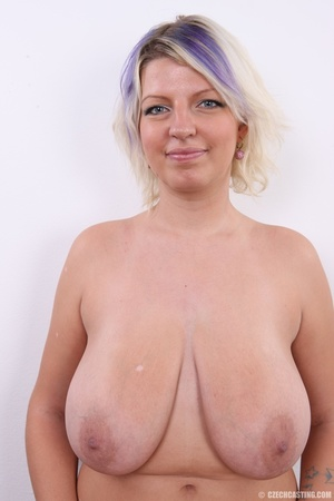 Dyed hair blonde with super huge and swe - XXX Dessert - Picture 25